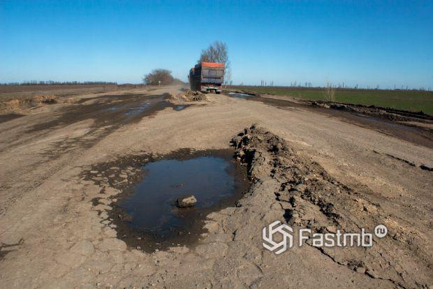 Самые худшие дороги в Украине