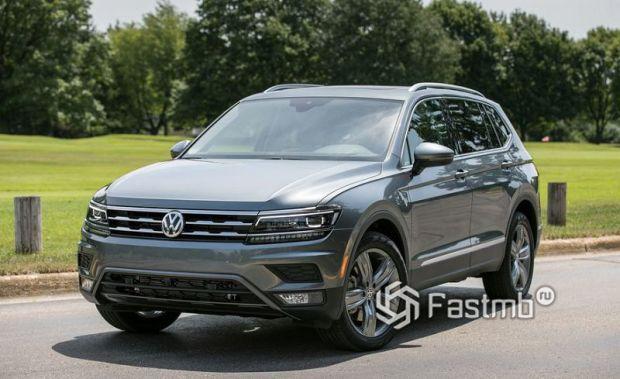 Стильный Volkswagen Tiguan 2019