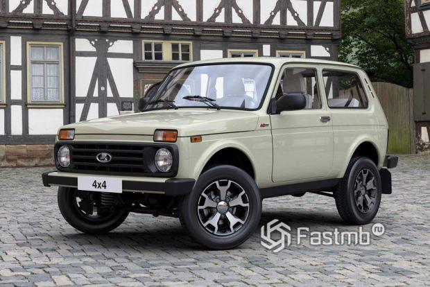 Внедорожник Lada 4x4