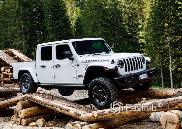 Европейская версия Jeep Gladiator 2019