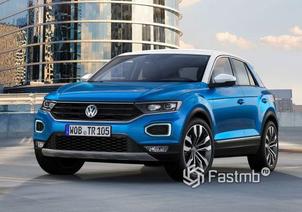 Новый Volkswagen T-Roc 2019