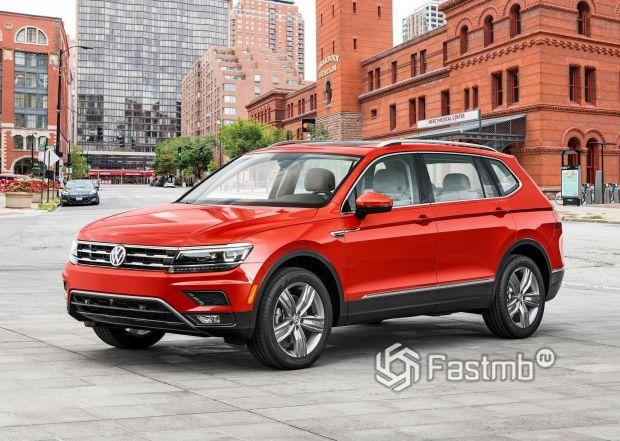 Новый Volkswagen Tiguan 2018