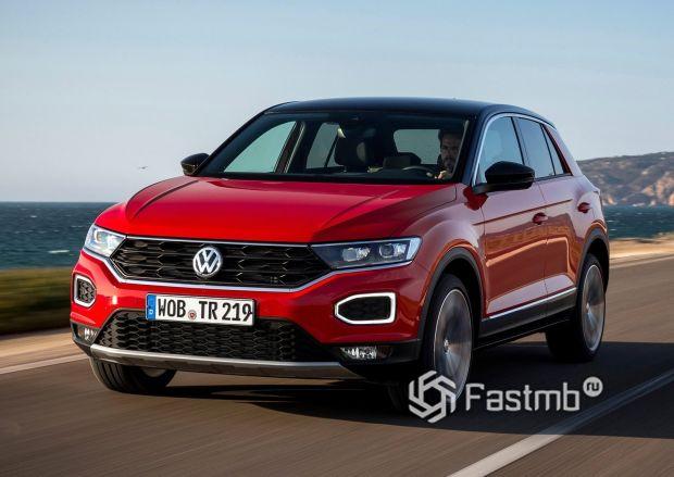 Компактный Volkswagen T-Roc 2018