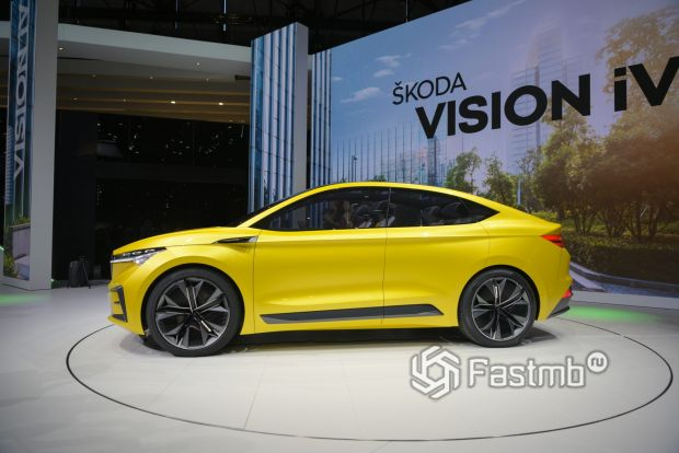 Электрокар Skoda Vision iV