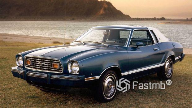 2 поколение Ford Mustang