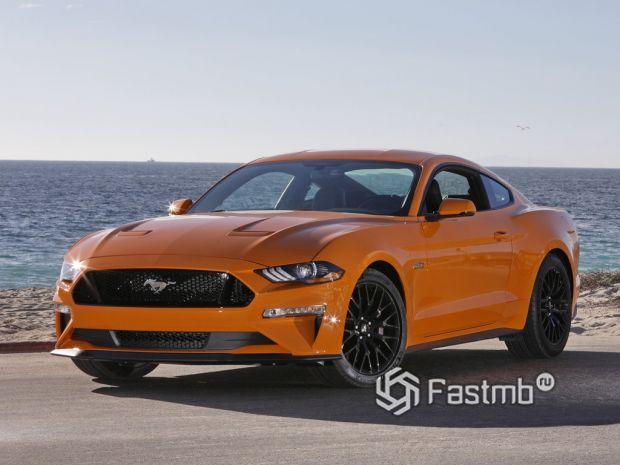 6 поколение Ford Mustang