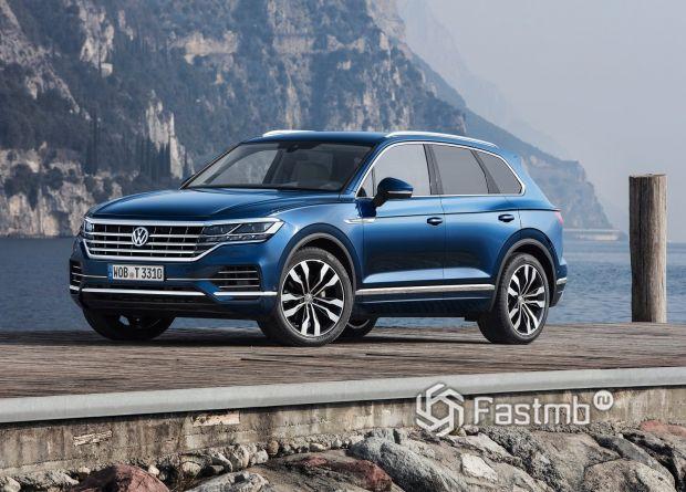 Новое поколение Volkswagen Touareg 2019