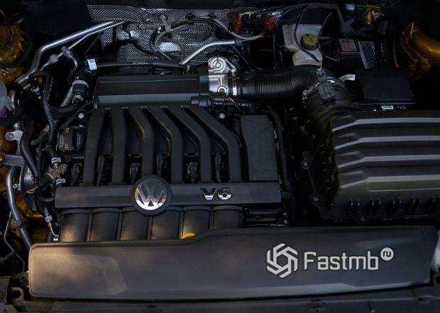 Двигатель нового Volkswagen Teramont 2018