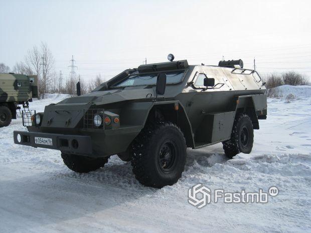 Бронированный автомобиль «Выстрел» КамАЗ-43269