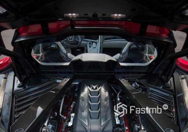 Двигатель Chevrolet Corvette C8 Stingray 2020