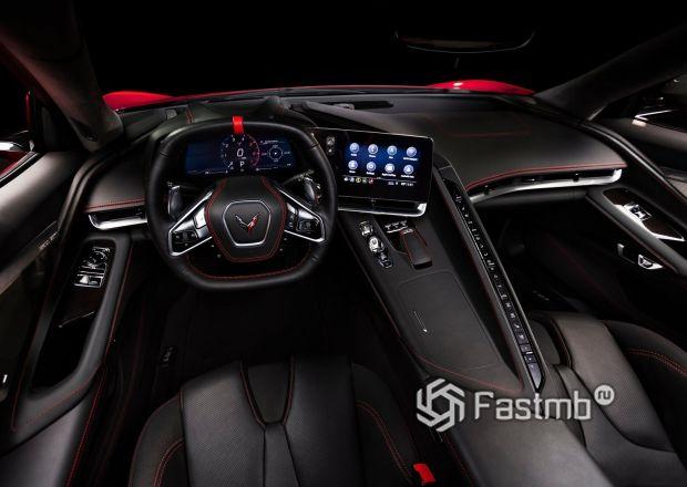 Интерьер нового Chevrolet Corvette