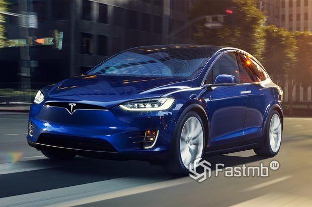 внешний вид Tesla Model X