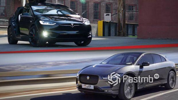 Tesla Model X или Jaguar I-Pace – что лучше?
