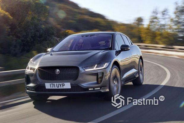 внешний вид Jaguar I-Pace