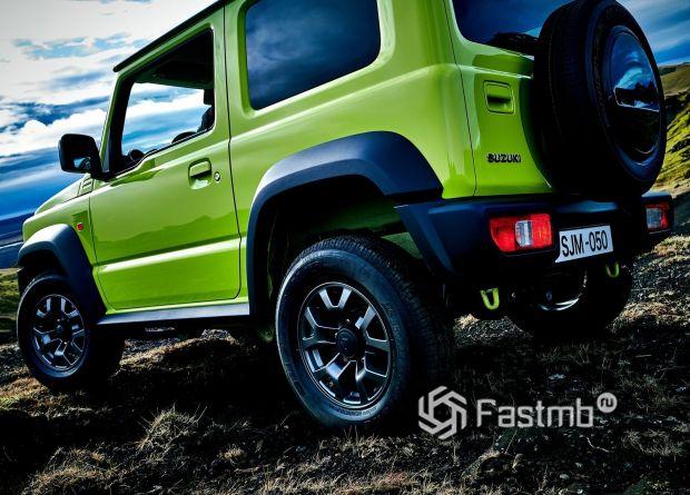 Проходимость внедорожника Suzuki Jimny 2020