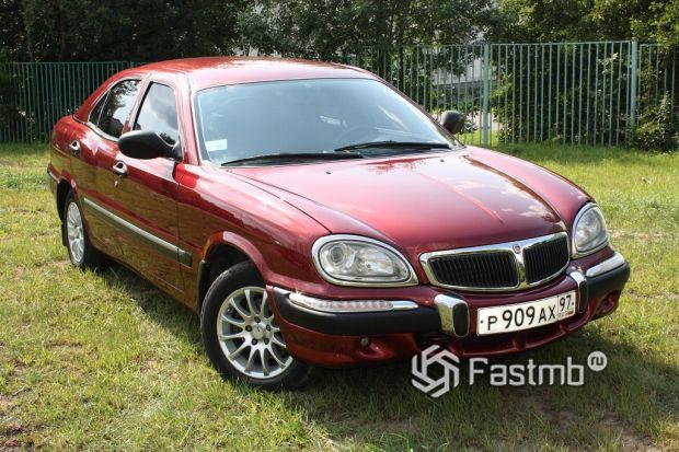 ГАЗ-3111, 1998
