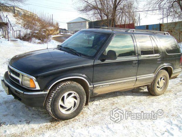 Chevrolet Blazer, 1996-1998