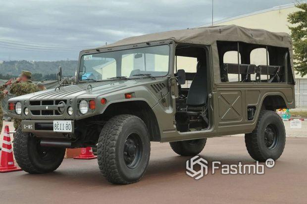 военный автомобиль Toyota Mega Cruiser