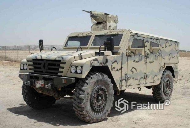 военный автомобиль Renault Sherpa