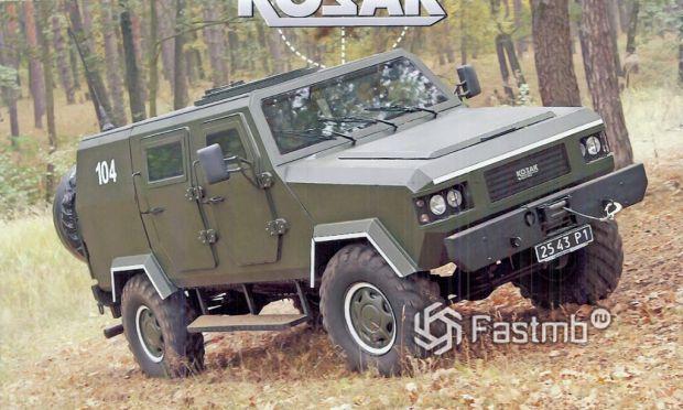 """военный автомобиль """"Козак"""""""