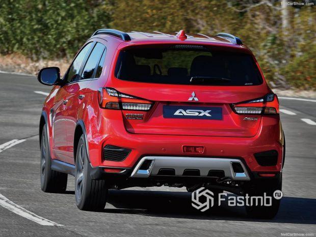 Mitsubishi ASX 2020, вид сзади