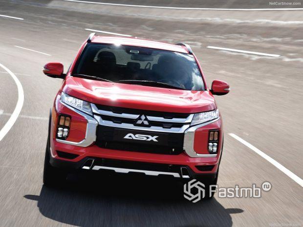Mitsubishi ASX 2020, вид спереди