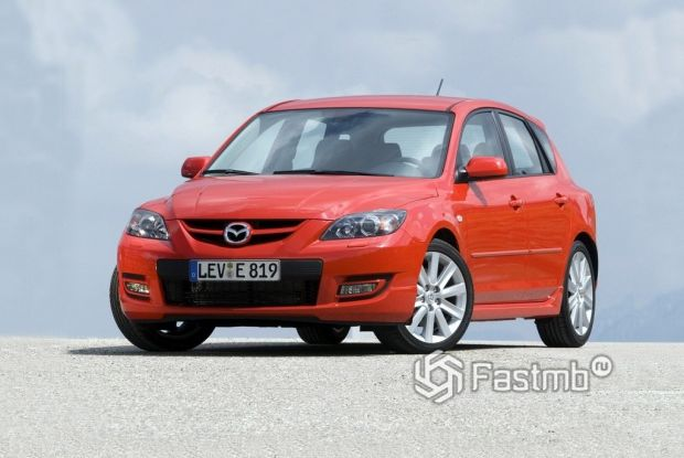 Mazda 3 MPS 2006 года