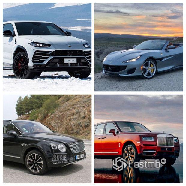 Самые роскошные автомобили в России