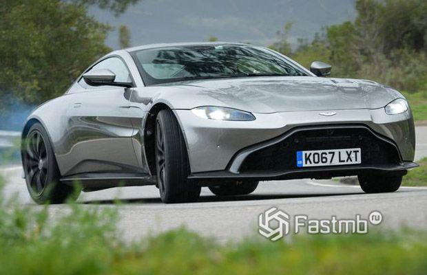 Новая Aston Martin Vantage