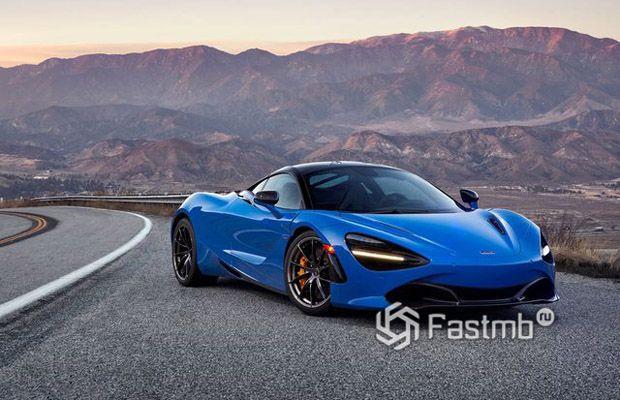 McLaren 720SP 2018