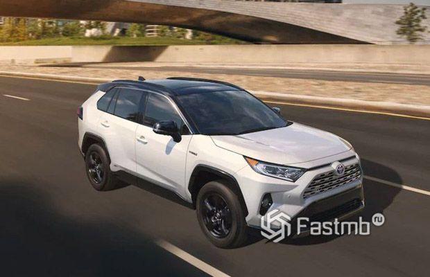 Новая Toyota RAV4 2019