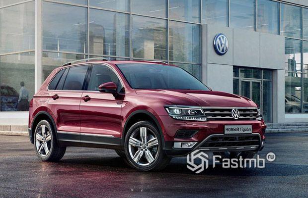 Новый Volkswagen Tiguan 2019