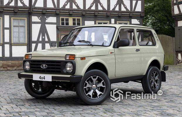 Отечественная Lada 4x4