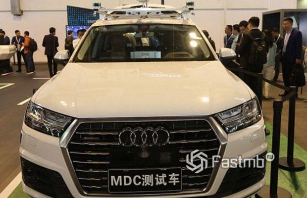 Audi Q7 MDC 2018 в КНР