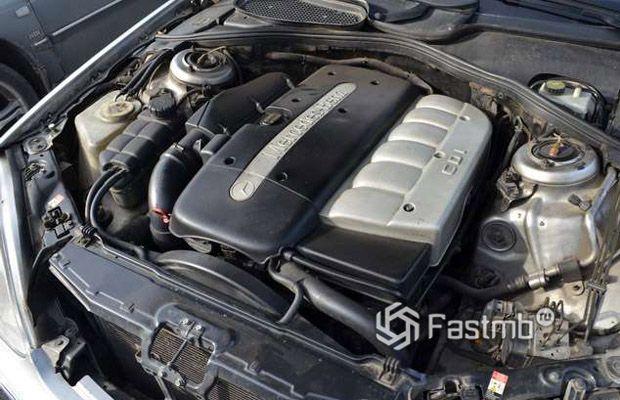 Дизельный двигатель Мерседес