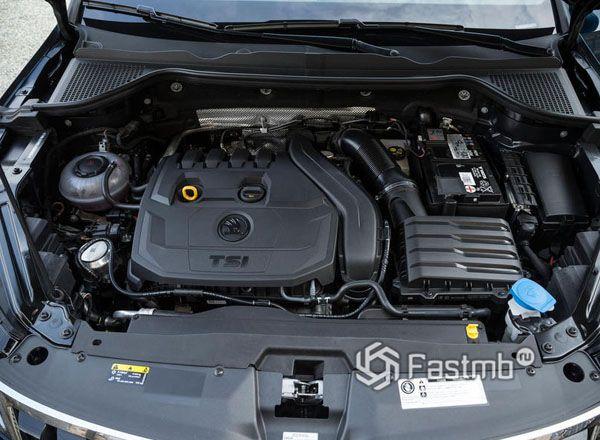Бензиновый двигатель Skoda Karoq