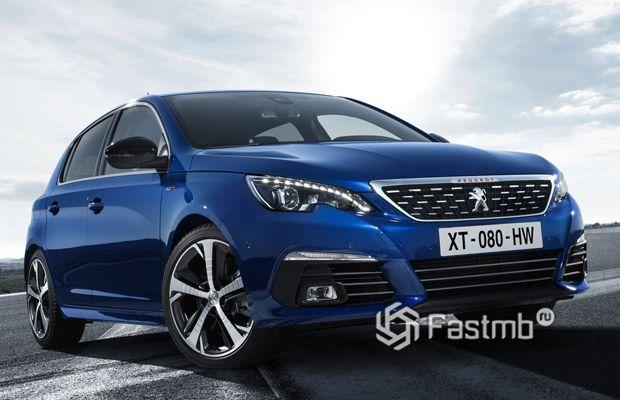 Новый Peugeot 308 2019