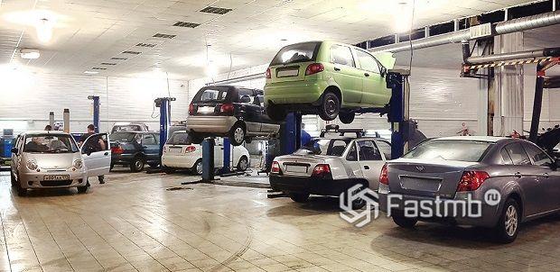стоимость обслуживания Kia и Daewoo