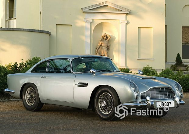 Легендарный Aston Martin DB5