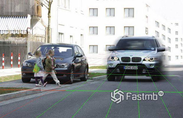 Механизм распознавания пешеходов