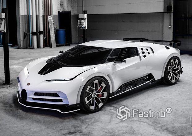 Передняя часть Bugatti Centodieci 2020