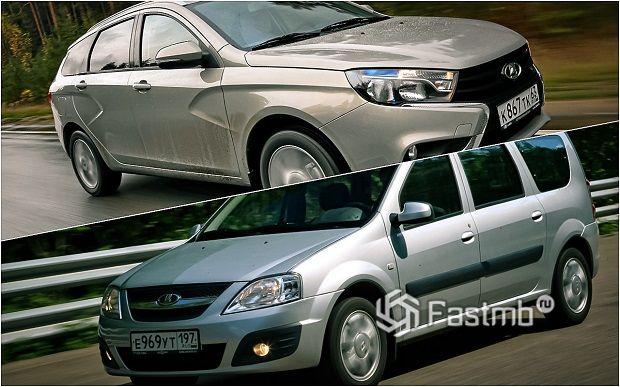 Lada Vesta против Lada Largus — что лучше?