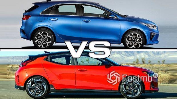 Kia Ceed против Hyundai Veloster — что лучше?
