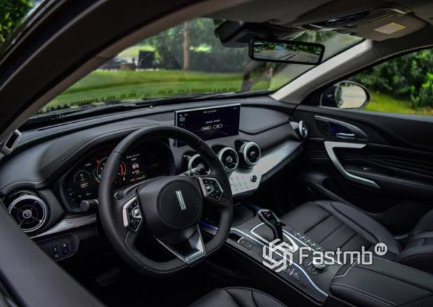 Интерьер нового Wey VV7 GT 2019