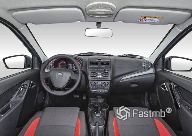Интерьер новой Lada Granta Drive Active 2019