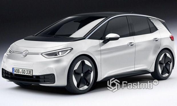 Электрокар Volkswagen ID 3