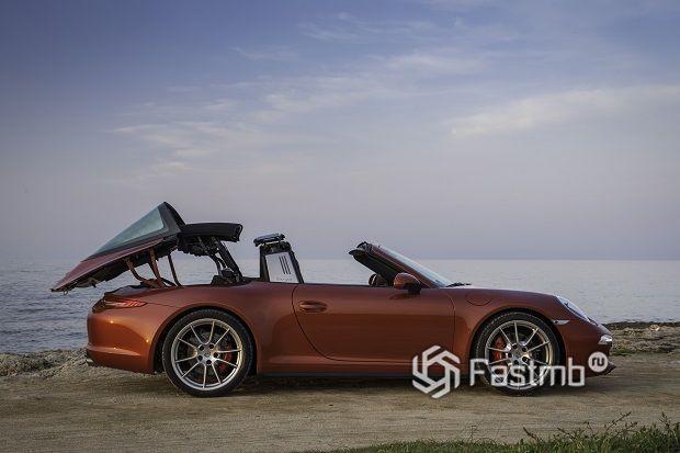 Красивые автомобили в кузове тарга: ТОП-7
