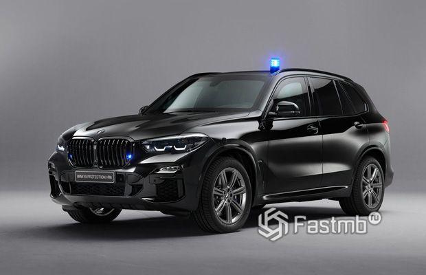 BMW X5 Protection VR6, вид спереди
