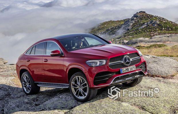 Новое поколение Mercedes-Benz GLE Coupe 2020
