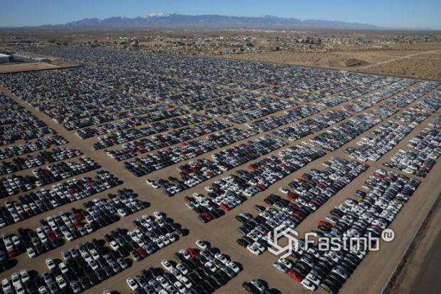 Отозванные дизельные автомобили Audi и Volkswagen
